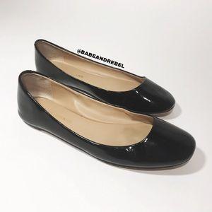 Arturo Chiang Patent Leather Flats